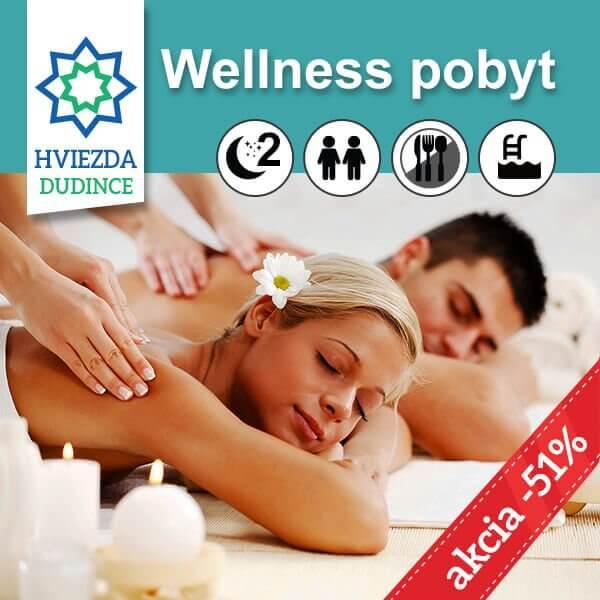 Wellness pobyt Hotel HVIEZDA***