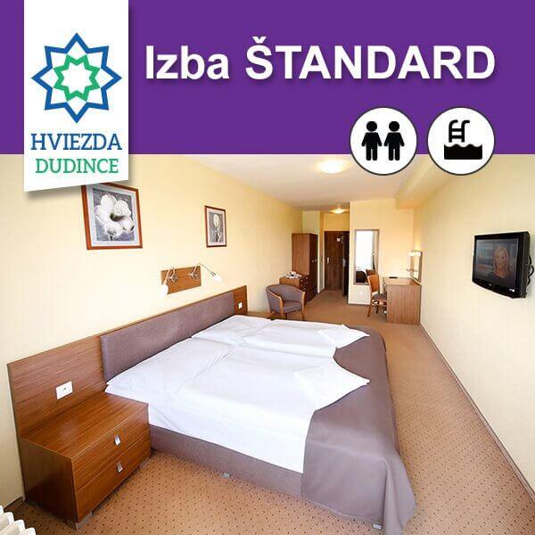 Izba ŠTANDARD Hotel HVIEZDA***