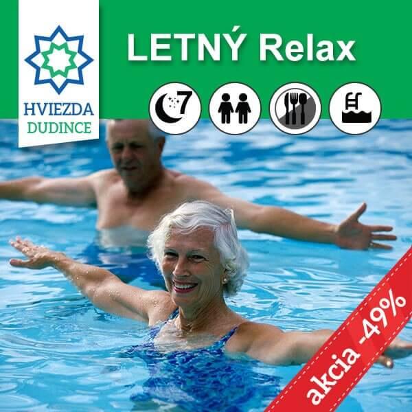 Letný relax pobyt Hotel HVIEZDA***