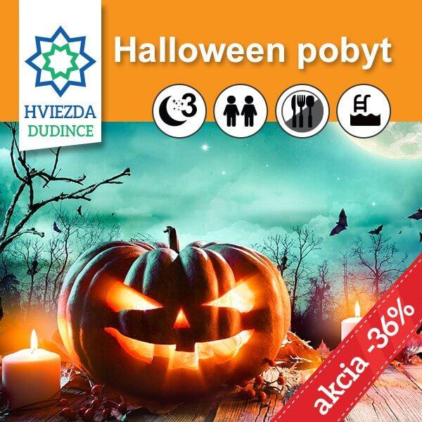 Halloween pobyt Hotel HVIEZDA***