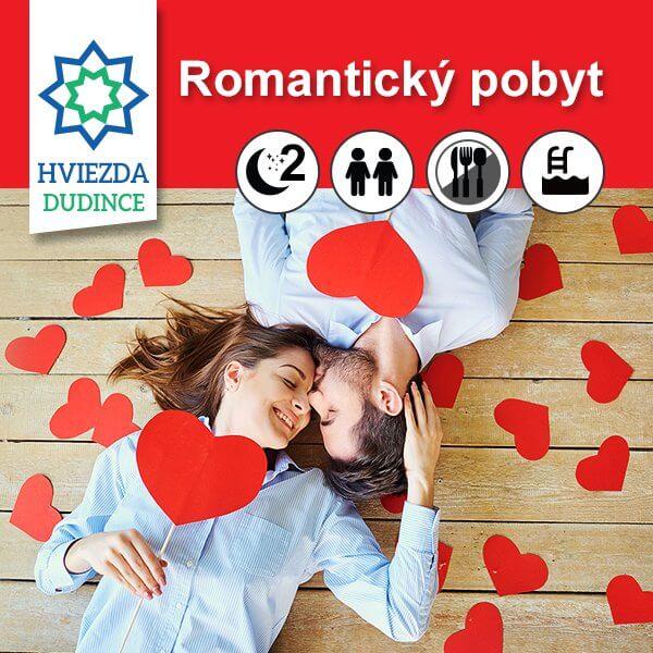Romantický pobyt Hotel HVIEZDA***
